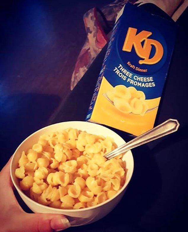 5. Канада - една кутия Kraft Dinner