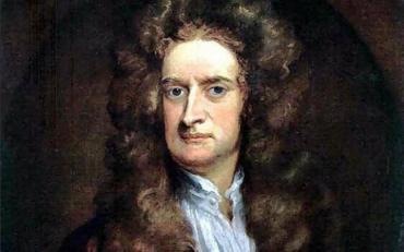 4 януари - 376 години от рождението на Исак Нютон