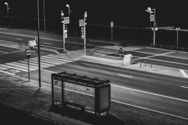 Най-тъжната автобусна спирка, на която никога не спира автобус